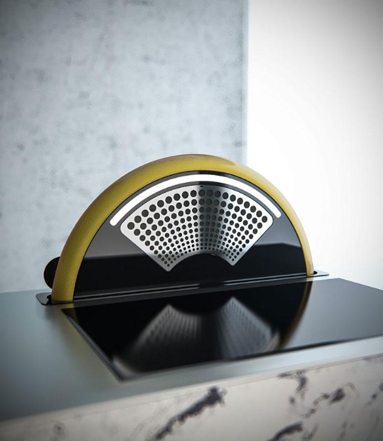 Modern kitchen hood model n.17