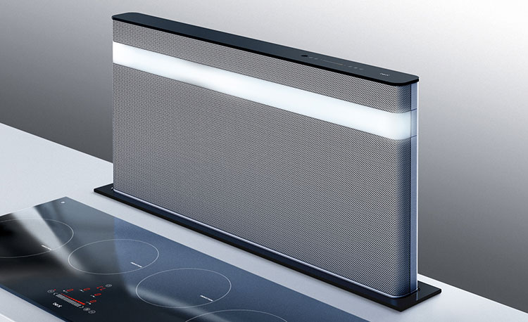 Modern kitchen hood model n.11