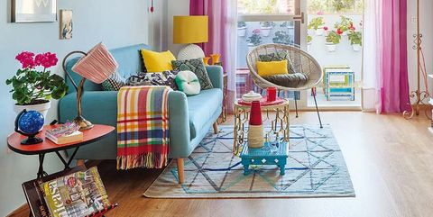 a cheerful and optimistic apartment