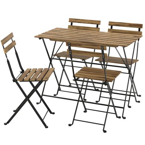 table 4 outdoor chairs tärnö