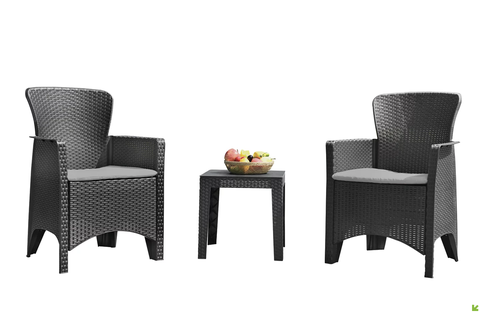 table and armchairs set