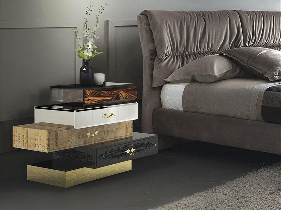Frank model design bedside table by Boca Do Lobo