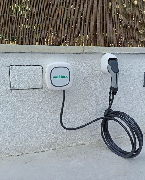 the most sustainable house in europe is spanish it charges an electric vehicle