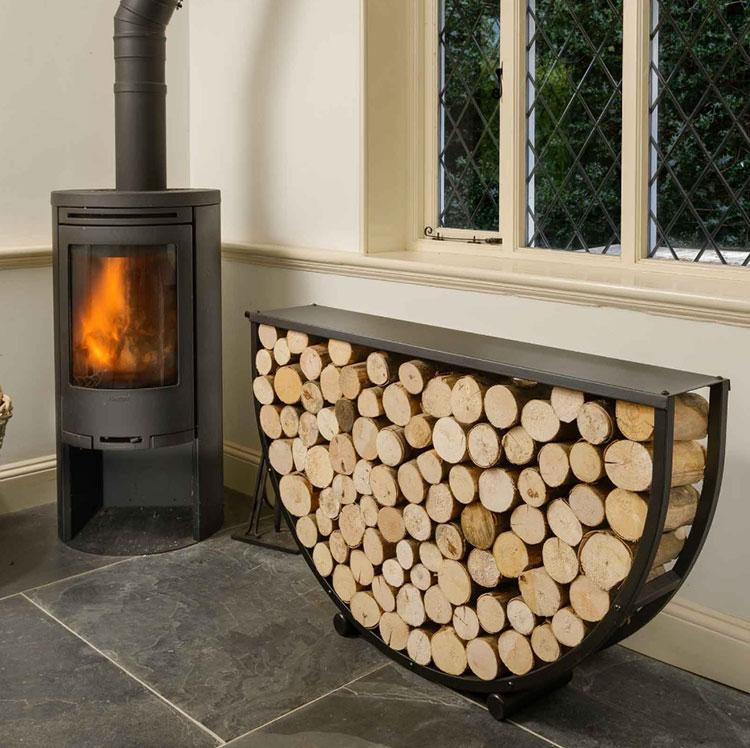 Ideas for indoor log holder n.27