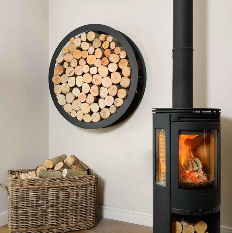 Ideas for indoor log holder n.26