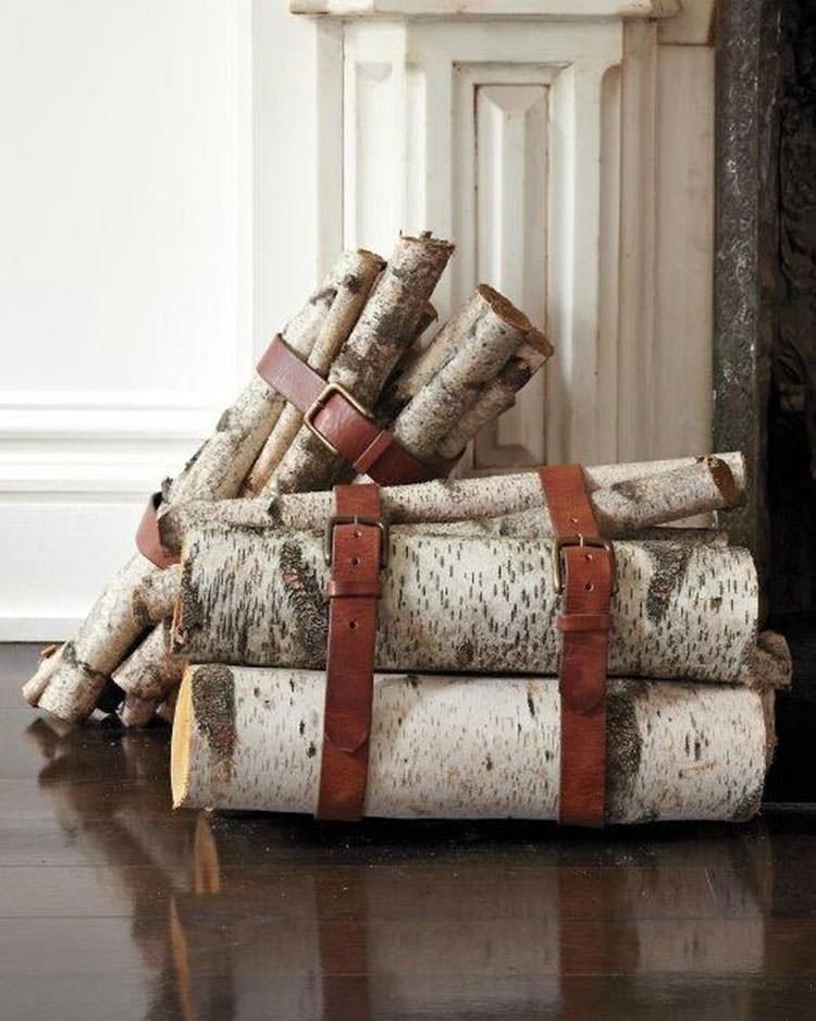 Ideas for indoor log holder n.15