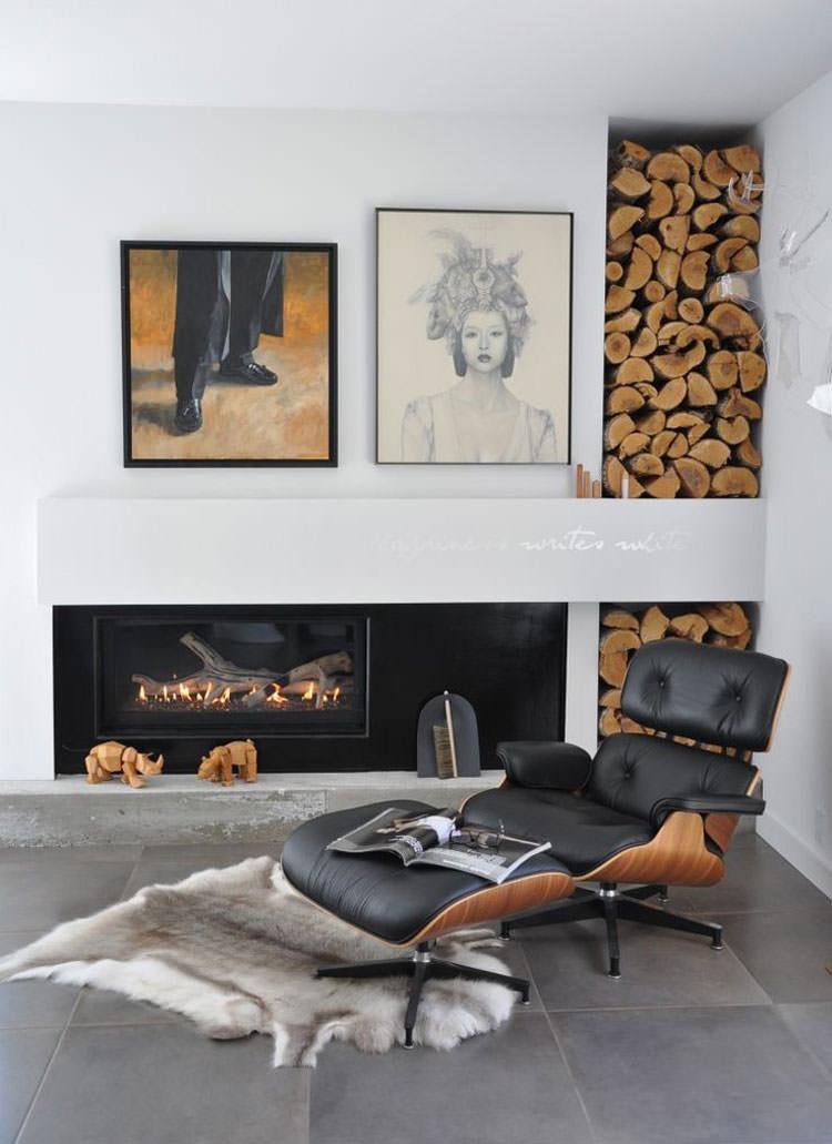 Ideas for indoor log holder n.03