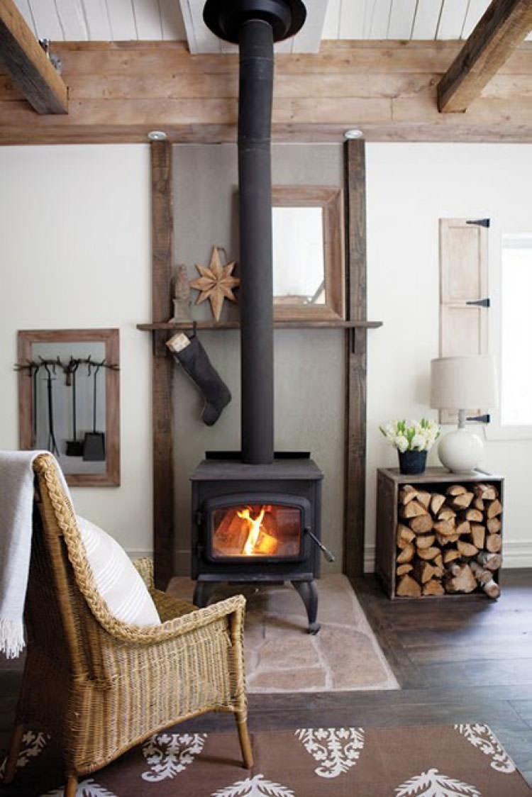 Ideas for indoor log holder n.13