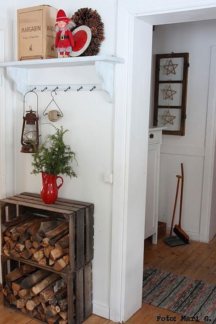 Ideas for indoor log holder n.24