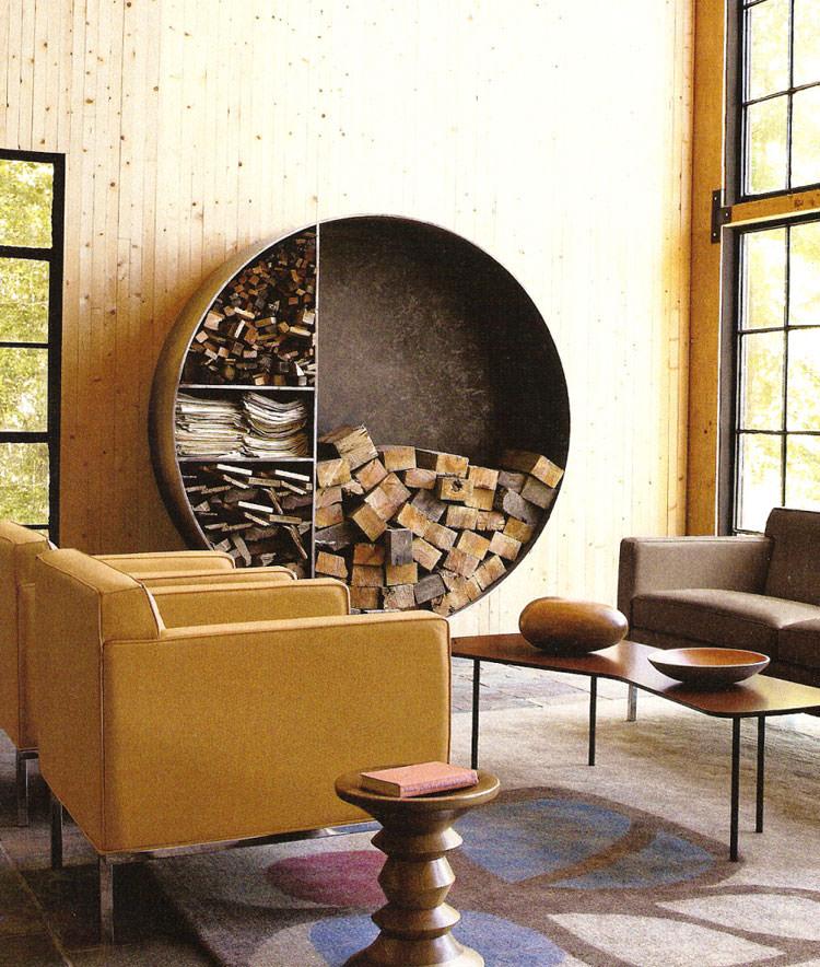 Ideas for indoor log holder n.20