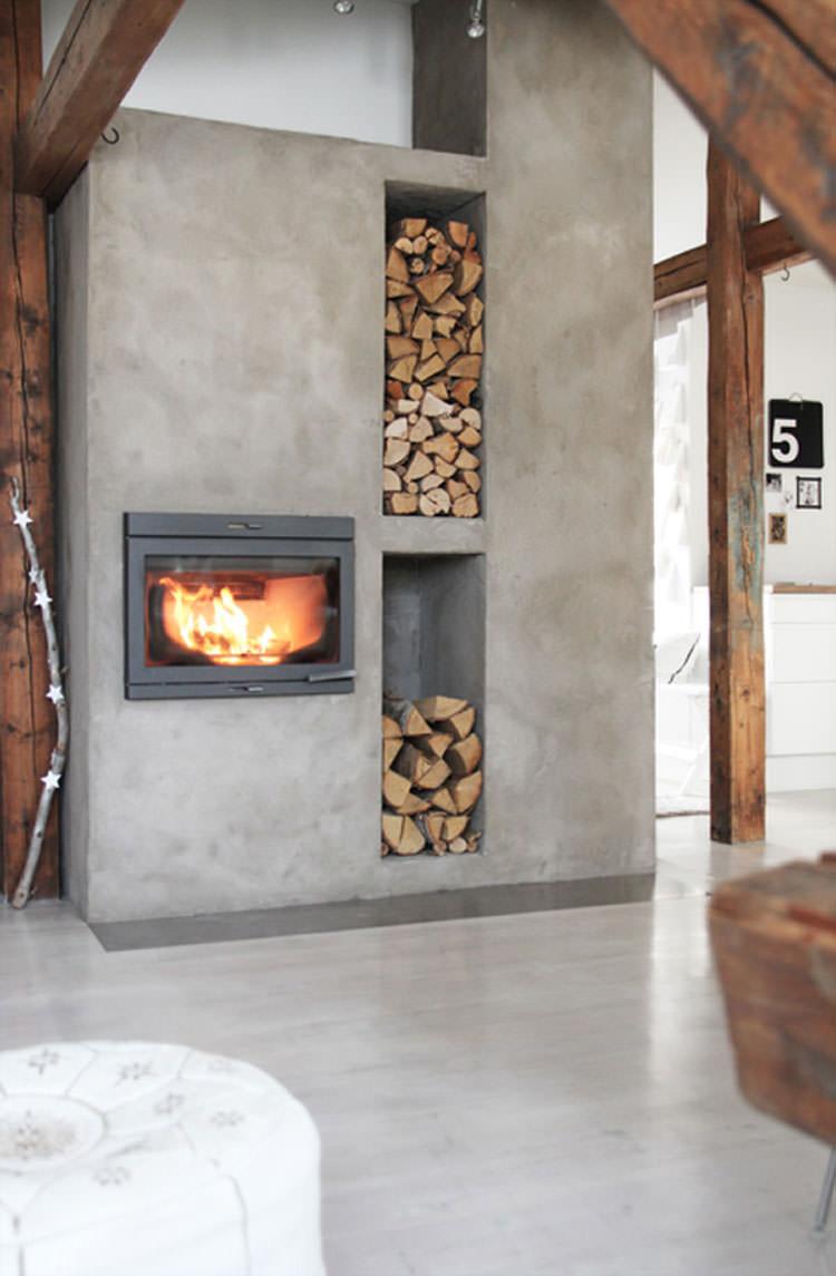 Ideas for indoor log holder n.11