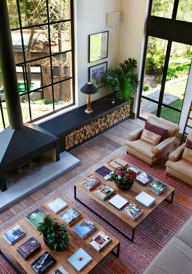 Ideas for indoor log holder n.12