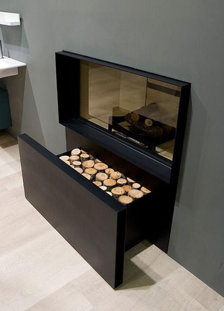 Ideas for indoor log holder n.04