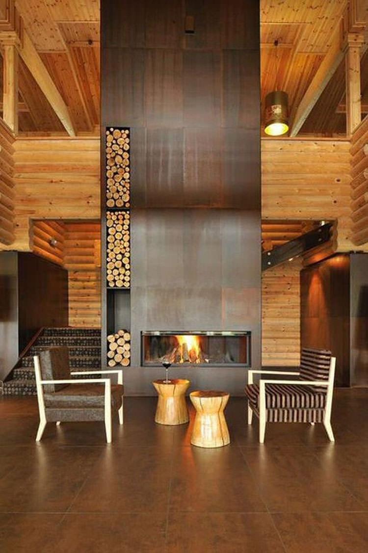 Ideas for indoor log holder n.16