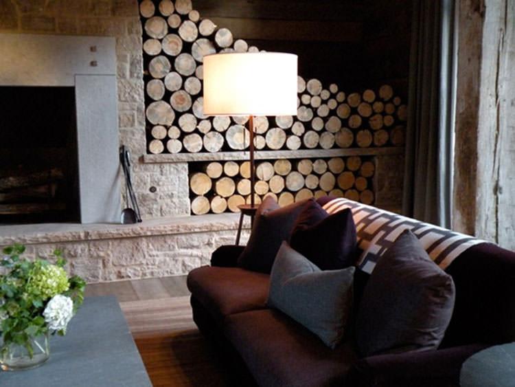 Ideas for indoor log holder n.19