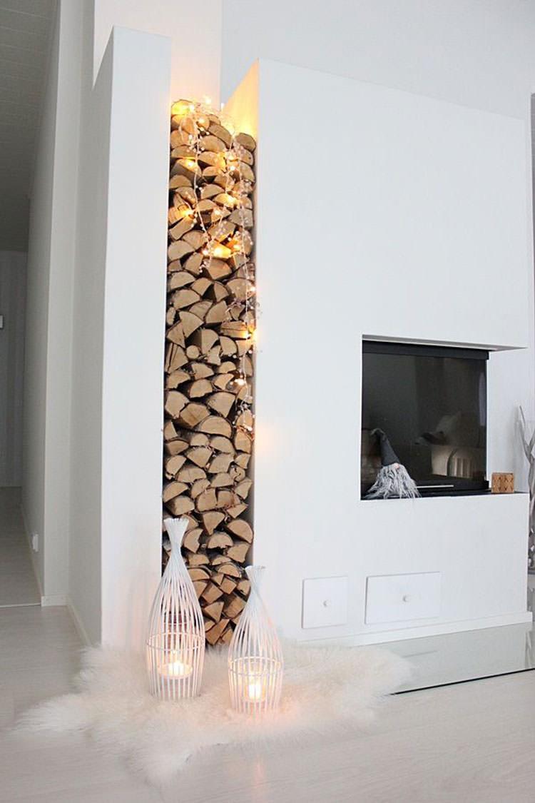 Ideas for indoor log holder n.08