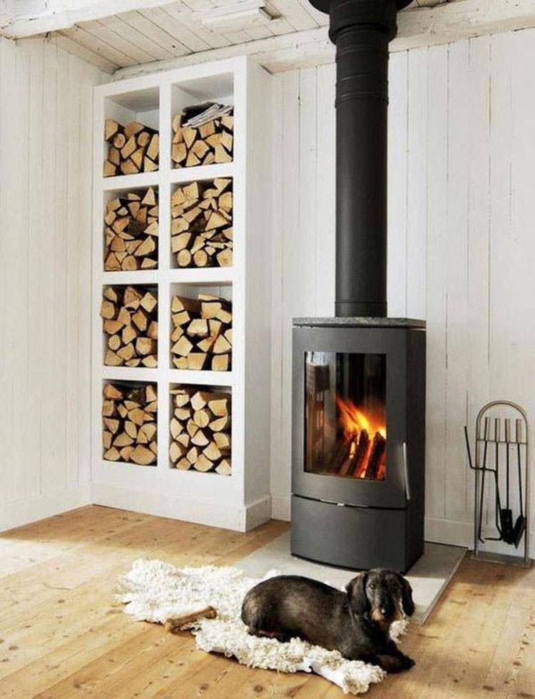 Ideas for indoor log holder n.07