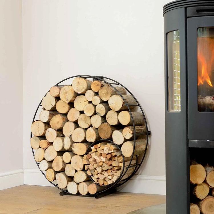 Ideas for indoor log holder n.28
