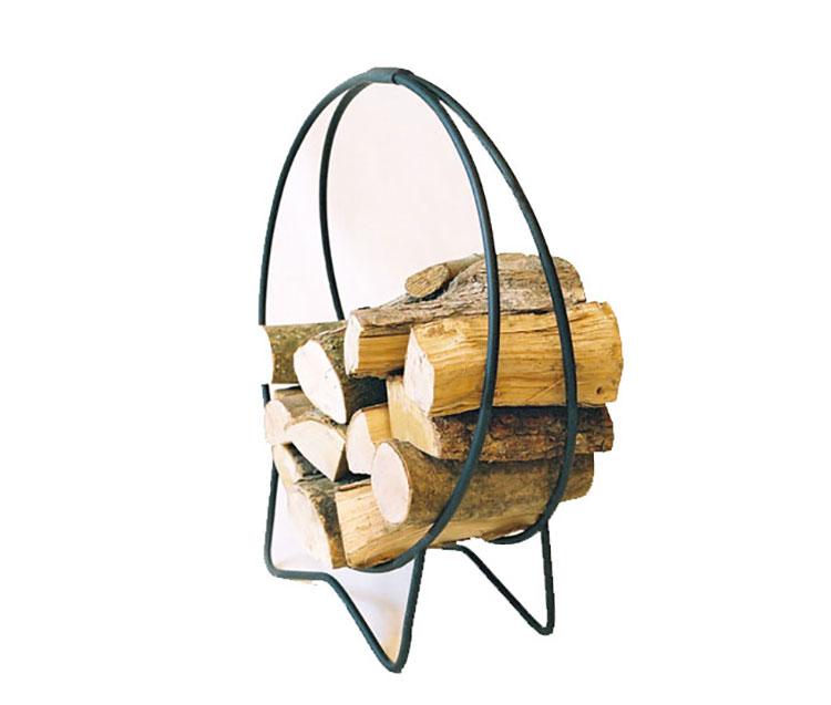 Indoor log holder model with modern design n.22
