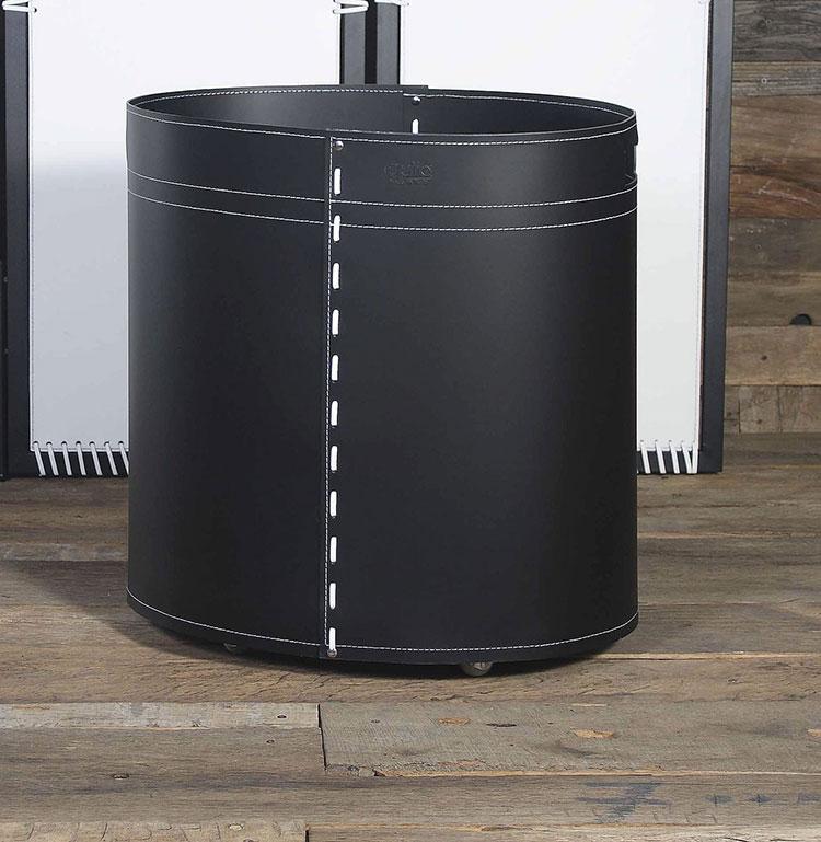 Indoor log holder model with modern design n.06