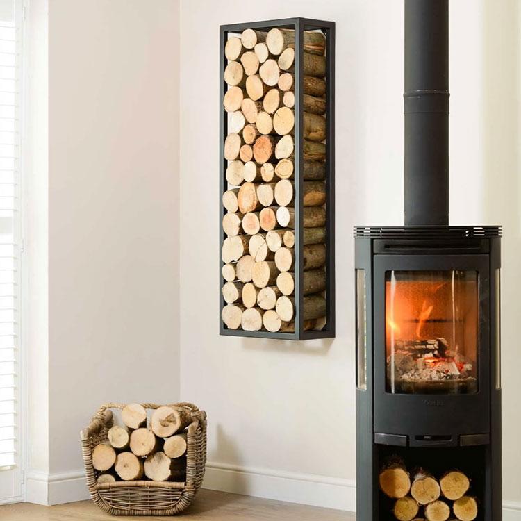 Ideas for indoor log holder n.29