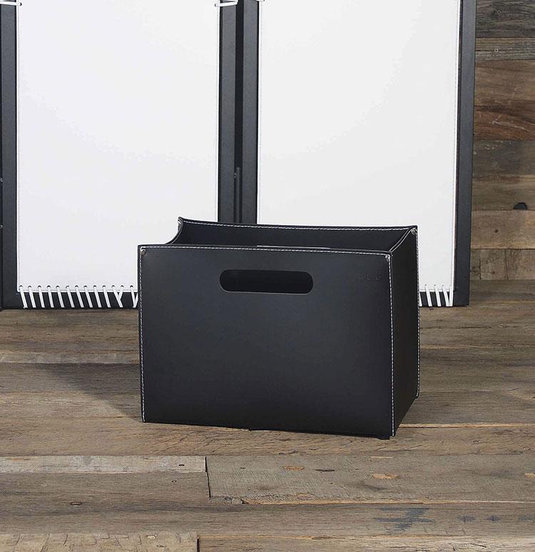 Indoor log holder model with modern design n.05