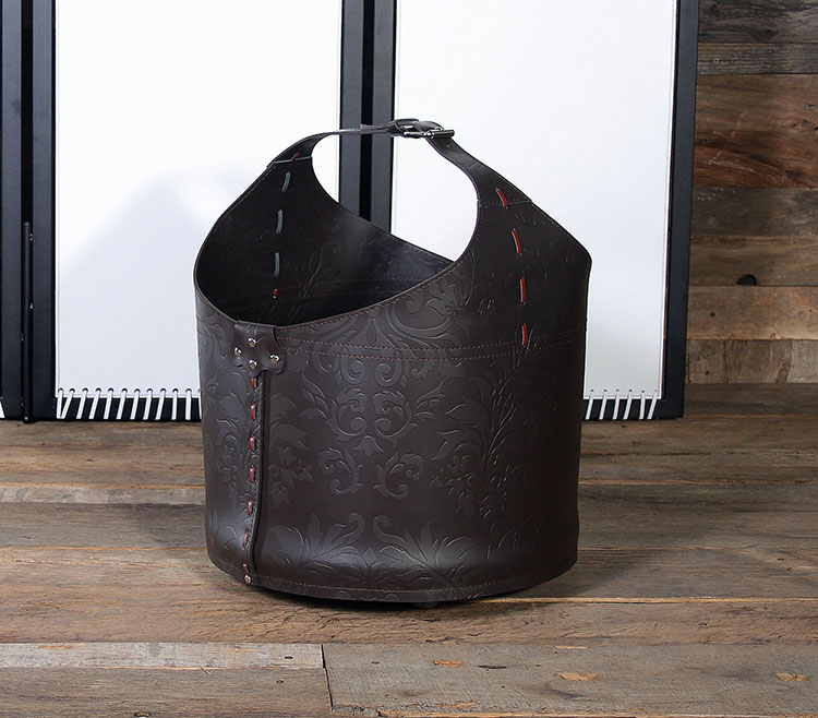 Indoor log holder model with modern design n.07