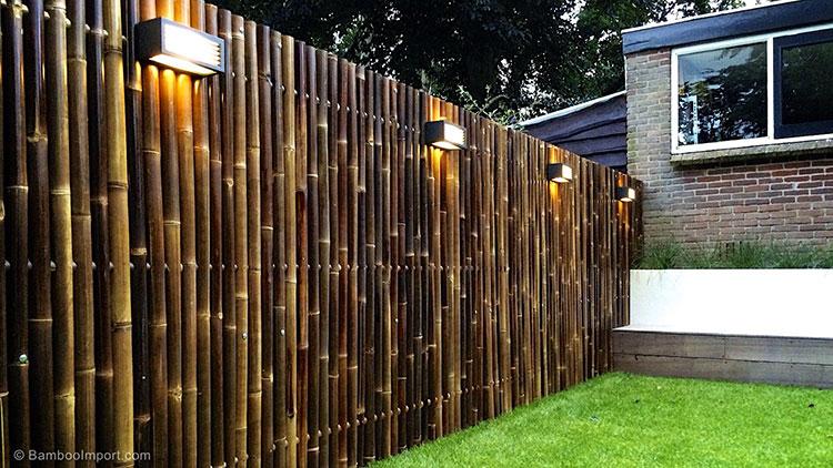 Design Bamboo Fence # 09
