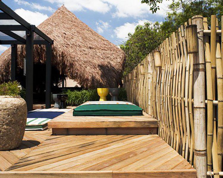 Design Bamboo Fence # 07