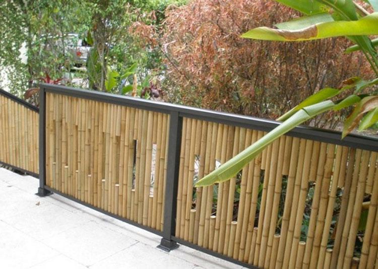 Design bamboo fence # 08