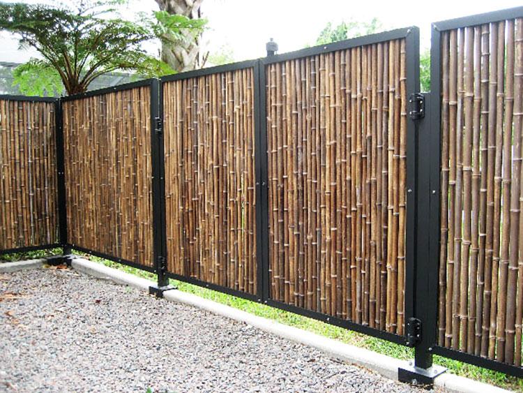 Design Bamboo Fence # 04