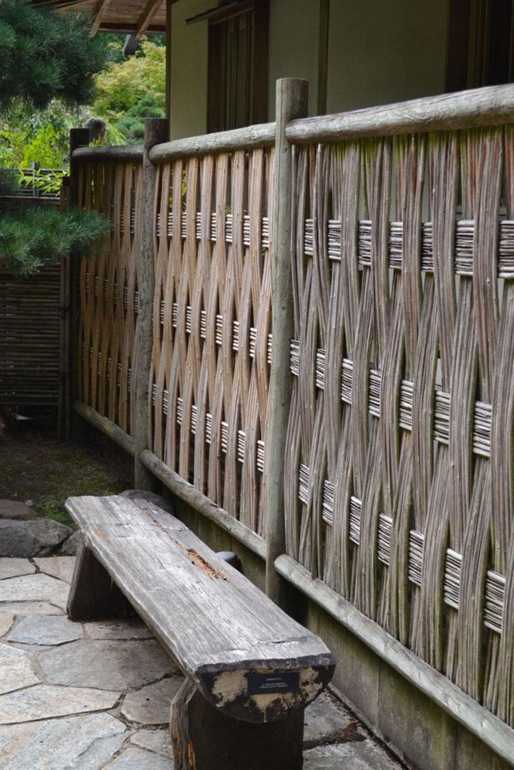 Design bamboo fence # 13