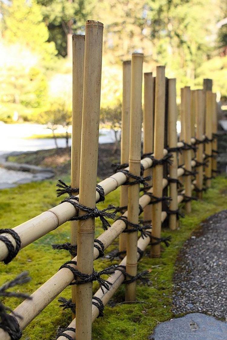 Design bamboo fence # 12