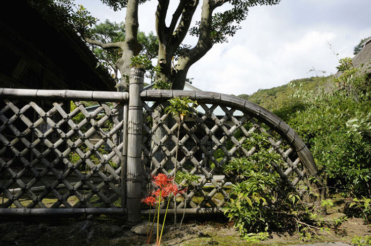 Design bamboo fence # 22