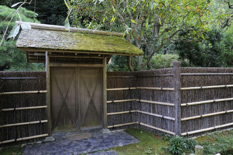 Design bamboo fence # 24