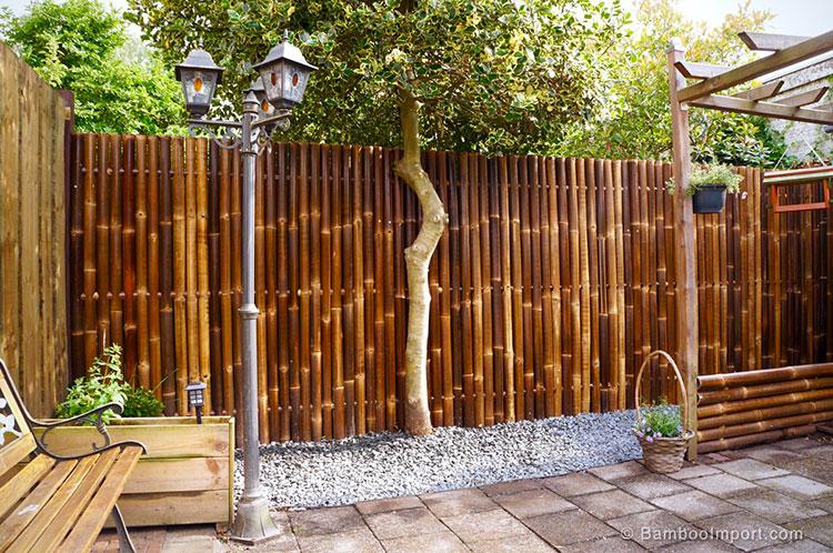 Design bamboo fence # 18