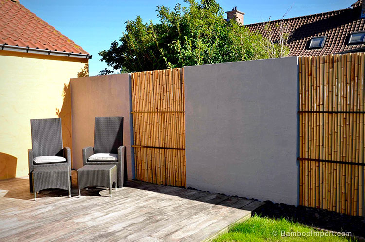 Design bamboo fence # 14