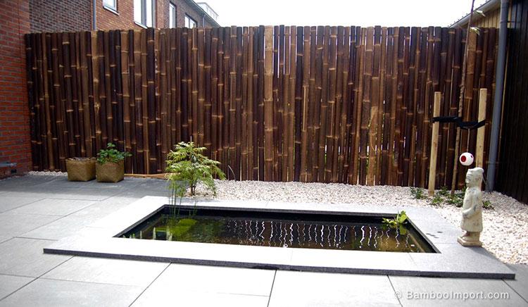 Design bamboo fence # 20