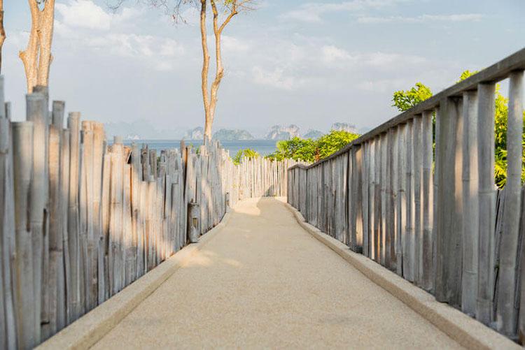 Design bamboo fence # 23