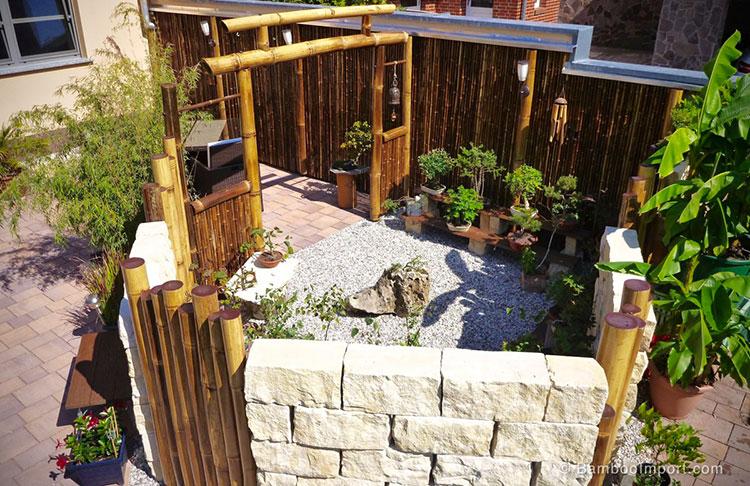 Design bamboo fence # 15