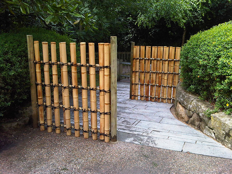 Design Bamboo Fence # 11