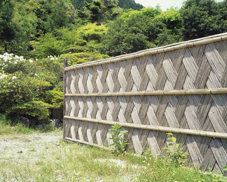 Design bamboo fence # 21