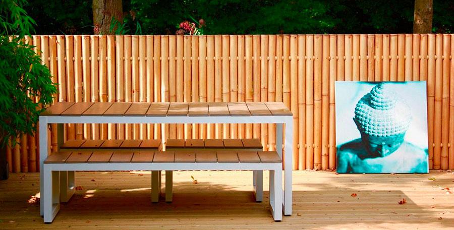 Recinzioni in bambu