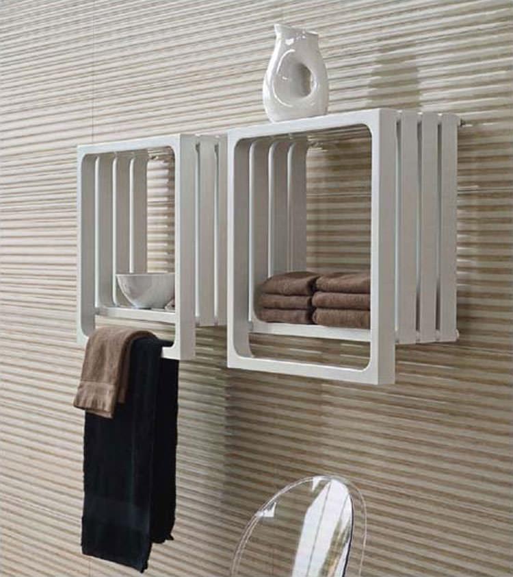 Bathroom radiator with modern design n.02