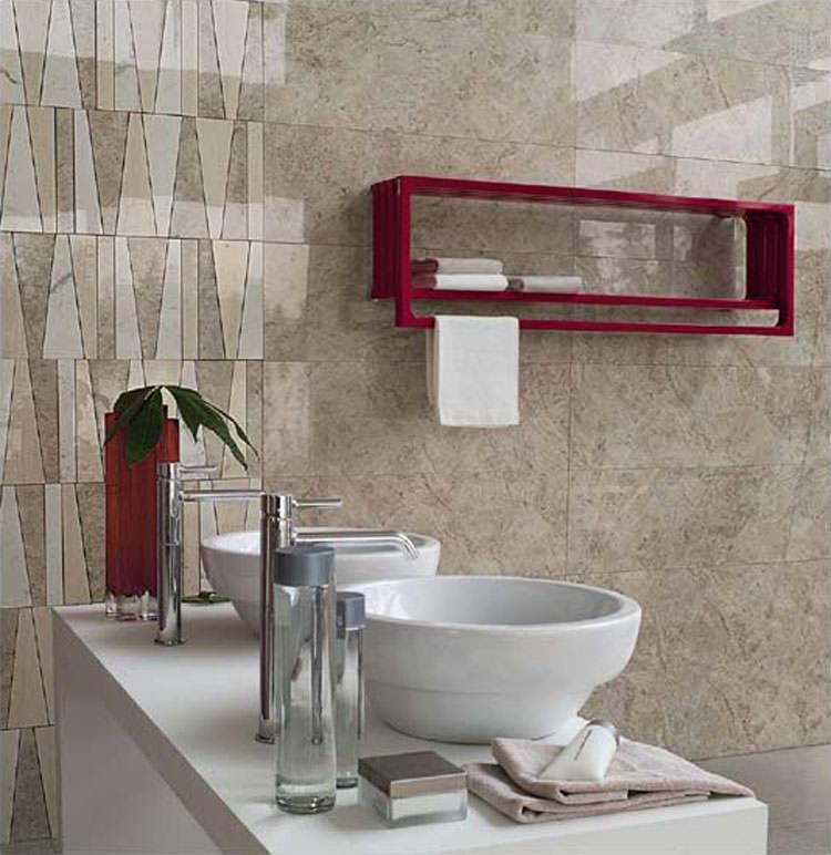 Modern design bathroom radiator n.04