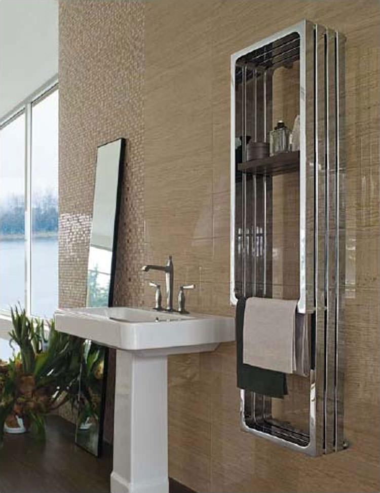 Modern design bathroom radiator n.06