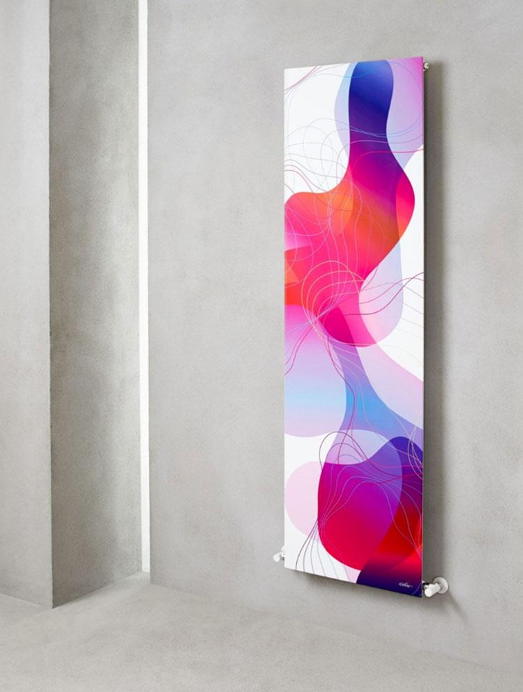 Bathroom radiator with modern design n.31