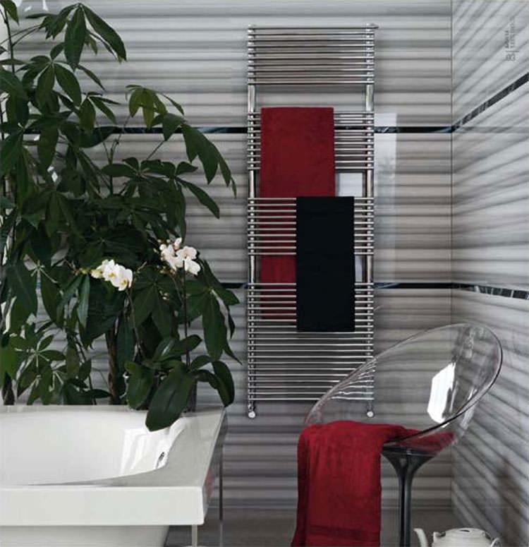 Modern design bathroom radiator n.07