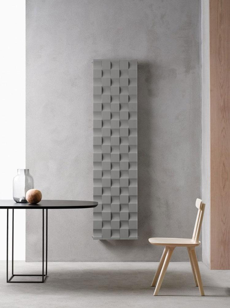 Bathroom radiator with a modern design n.30