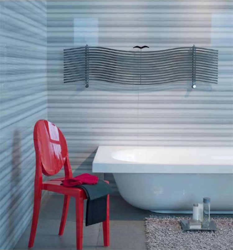 Modern design bathroom radiator n.17